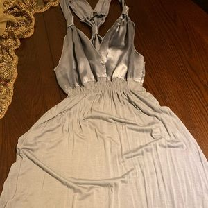 Silver Versatile Dress and Top, summer outfit